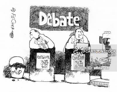 Mud Slinging in Presidential Debates
